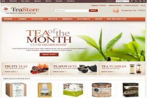 Thiết kế website bán trà