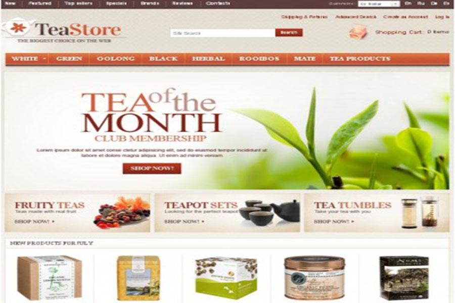 Thiết kế website bán trà – cafe chuyên nghiệp