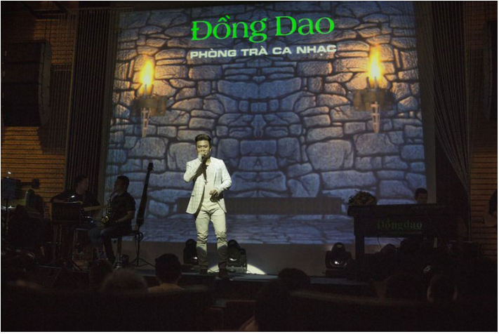 Phòng trà Đồng Dao.