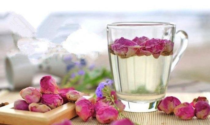 Cách pha trà hoa hồng sấy khô