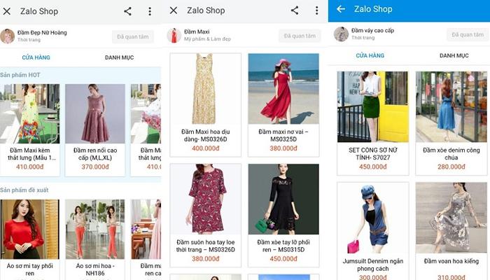 Cách bán hàng trên Zalo Shop